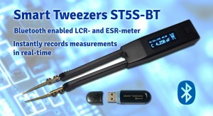 Smart Tweezers ST5S-BT2 Bluetooth enabled LCR- and ESR-meter