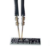 Smart Tweezer probes and offset calibration board