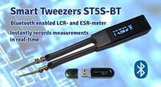 Smart Tweezers with Bluetooth Functionality