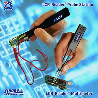 Smart Tweezers and LCR-Reader Probe Station devices