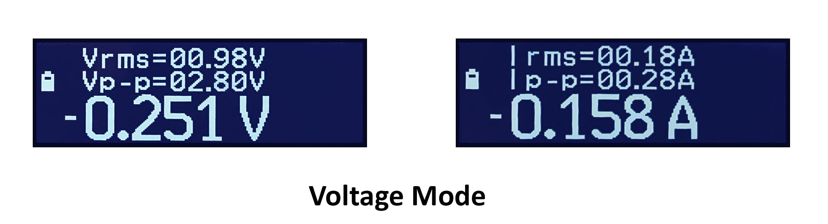 LCR-Reader-MPA voltage testing